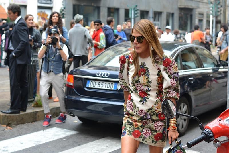 Anna Dello Russo, Milan, Milano fashion week, ADR, Dolce & Gabbana, Anna dello Russo Dolce & Gabbana