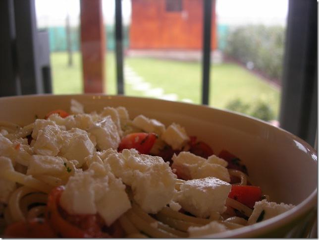 pasta feta pomodorini