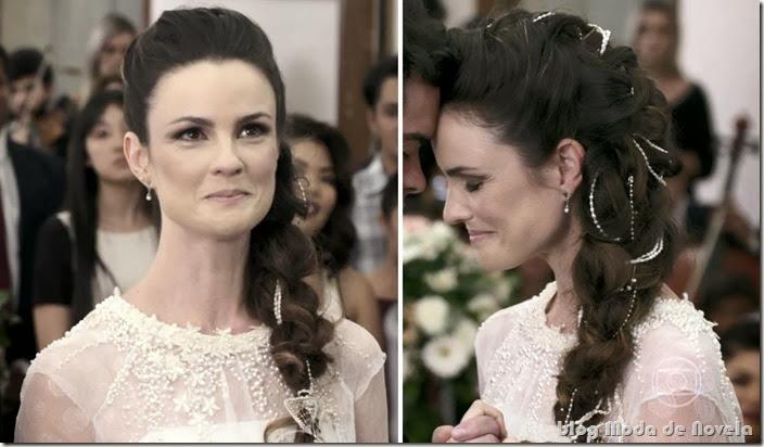moda da novela amor à vida - vestido de noiva da gina capítulo 24 de janeiro de 2014 b