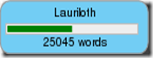 NaNoWriMo 2013 Wordcounter (25k)