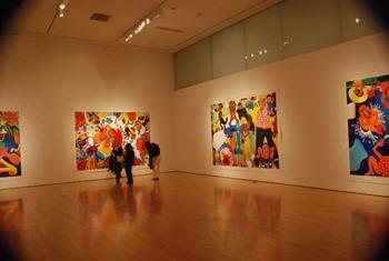 art gallery show