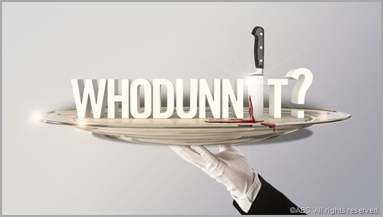 WHODUNNIT? on ABC is just like one of those murder mysetry parties you or your friends have thrown...except it's good.