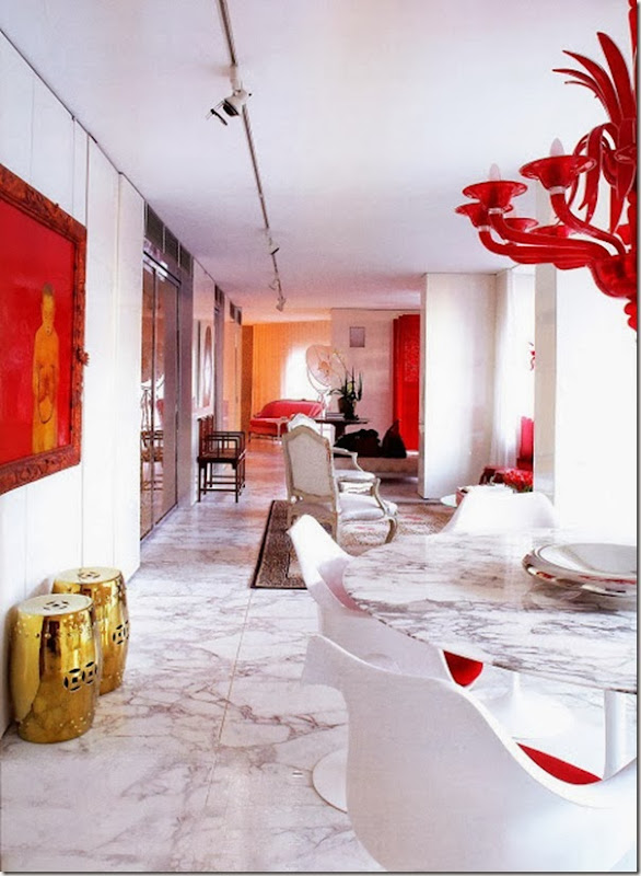 case e interni - uso del rosso - red - interior-design (14)