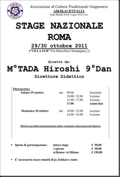 Microsoft Word - stage nazionale Roma novembre 2011.doc