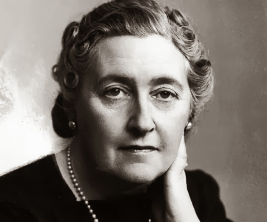 Portrait of mystery novelist Agatha Christie.  (Photo by Time Life Pictures/Pix Inc./Time Life Pictures/Getty Images)