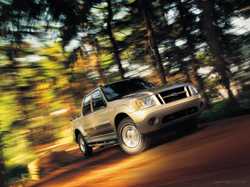 2004 ford explorer sport trac crew cab specifications pictures prices. Black Bedroom Furniture Sets. Home Design Ideas