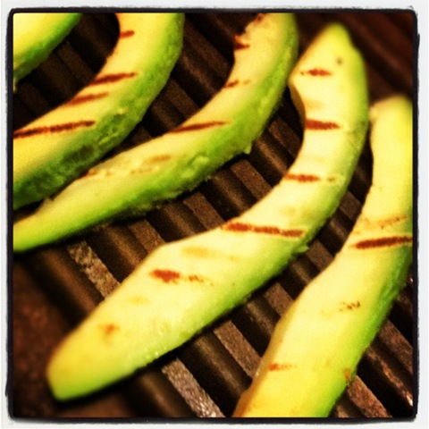 #155 - griddled avocado
