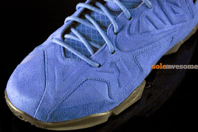 nike lebron 11 nsw sportswear ext blue suede 4 07 Nike LeBron XI EXT Blue Suede   1 of 3   NSW Retail Version