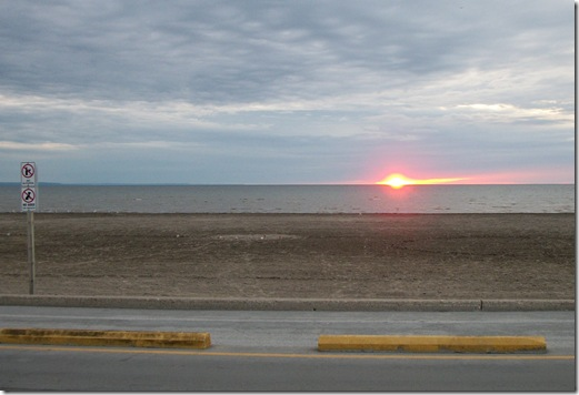 Beach One Sunset 061011