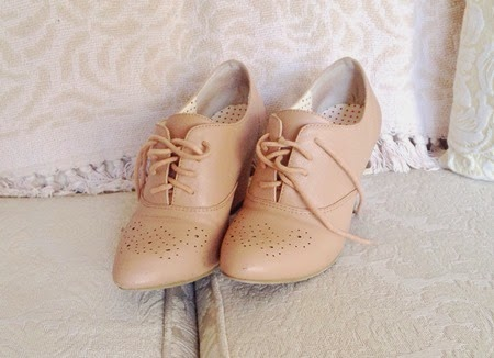 B.A.I.T. Footwear Harrow Oxfords for the 40s fashion challenge   Lavender & Twill
