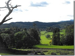 Hill top walk more fields
