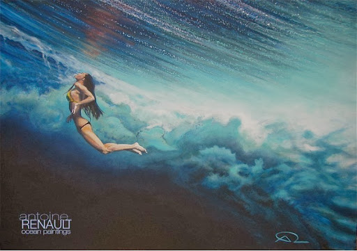 Ocean Paintings by Antoine Renault   Amusing Planet