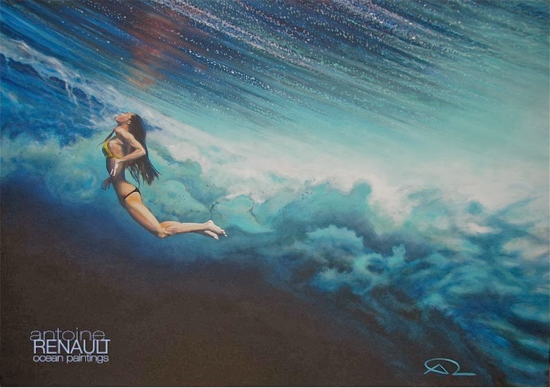 Ocean Paintings by Antoine Renault | Amusing Planet
