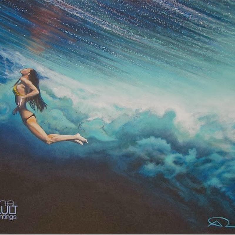 Ocean Paintings by Antoine Renault