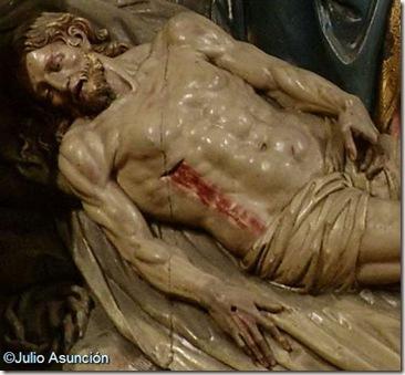 Cristo - Retablo de los Santos Juanes - Estella