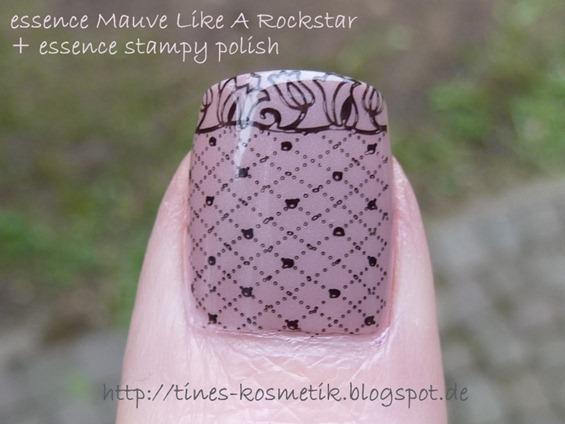 Mauve Like A Rockstar Stamping 3