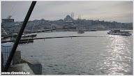 Рыбалка на Галатском мосту. Стабул.