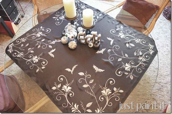Painted-Table-Topper-O