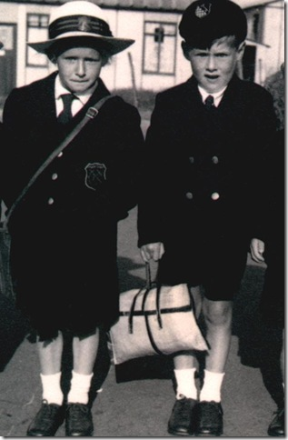 1st. day at Convent 1948