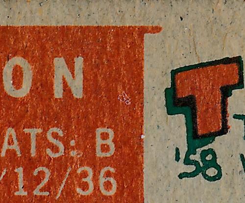 1959 Topps 231 Ellis Burton variation