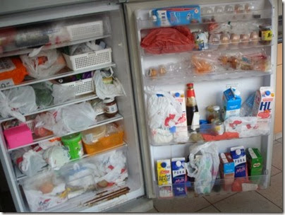 fridge mess