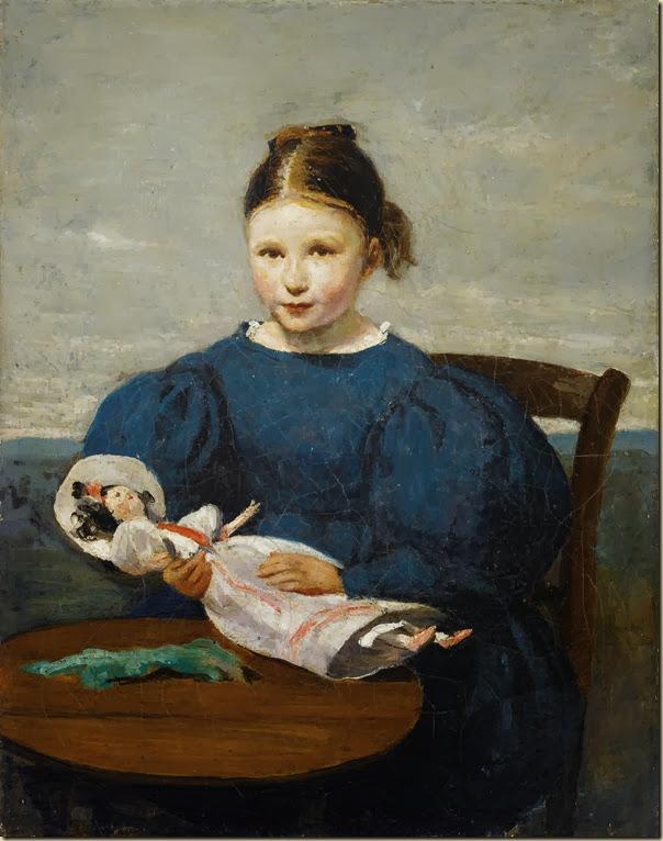 ille Corot, Petite fille avec une poupée