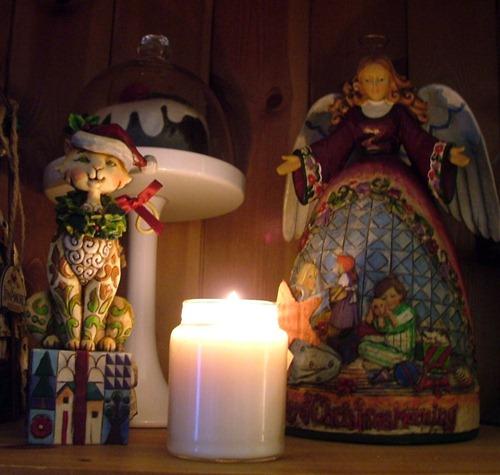 Xmas eve candle