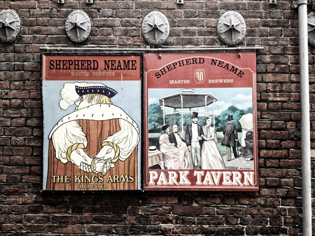 Vintage Pub Signs at Shepherd Name