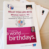 WBFJ at Relay for Life - American Cancer Sociey at parkland High School 51510