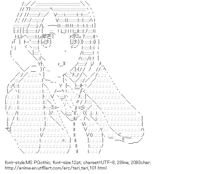 [AA]Okita Sawa (TARI TARI)
