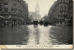 inondation gare de Lyon