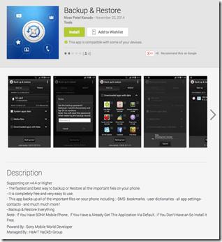Kuva huijaussovelluksesta Google Playssa, huomaa ylläpitäjä sekä kirjoitusvirheet (c) Gigaom