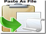 Incollare subito come file testo e immagini copiati con il mouse