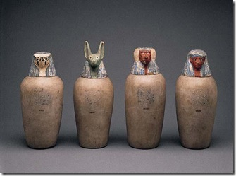 Egyptian jars