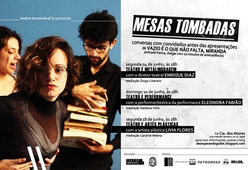 MESAS TOMBADAS