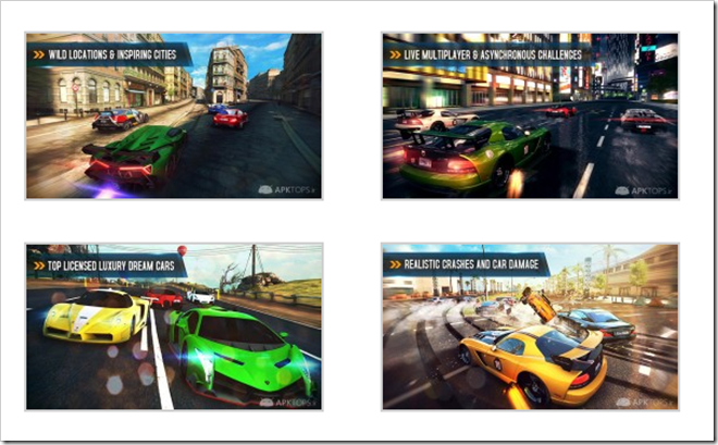 Download  Asphalt 8: Airborne 1.2 Apk Direct Link