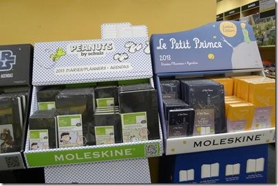 Moleskine Peanuts and Le Petit Prince