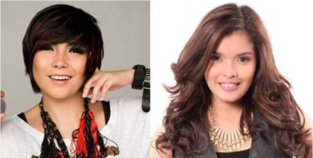 Yeng Constantino and KZ Tandingan