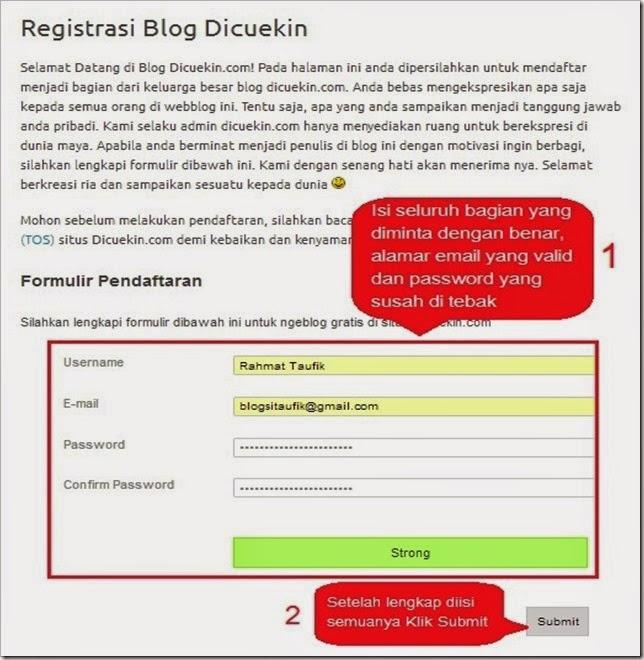 Formulir Pendaftaran -blogsitaufik.blogspot.com