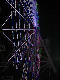 Odaiba's ferris wheel at night