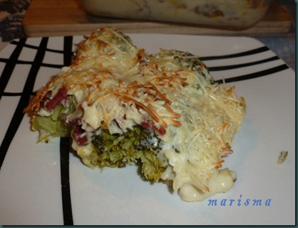 brocoli gratinado,racion copia