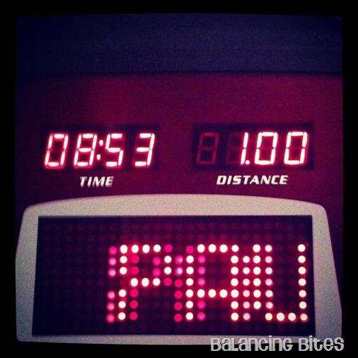 Minute Per Mile Goal