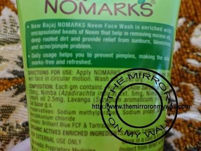 NoMarks Neem FaceWash3.JPG