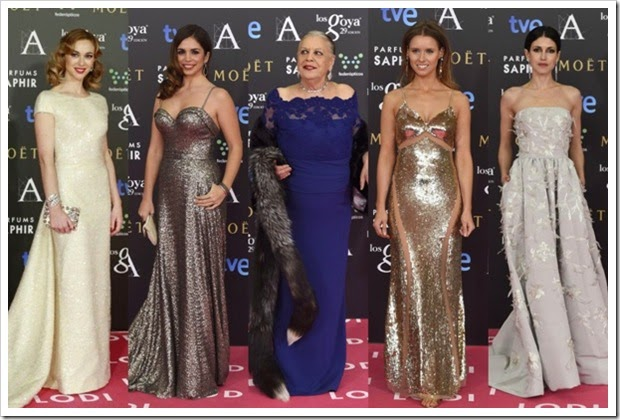Premios Goya 2015 alfombra roja (7)