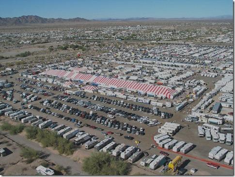 Q Big Tent aerial