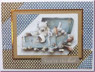 Wellington A4 Decoupage Docrafts