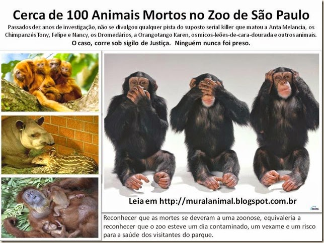 Cerca de 100 Animais Mortos no Zoo de