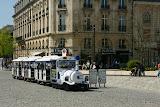 Reims / Le petit train