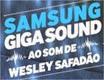 samsung giga sound ao som de wesley safadao
