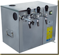 Розлив кваса/пива из кег: охладитель